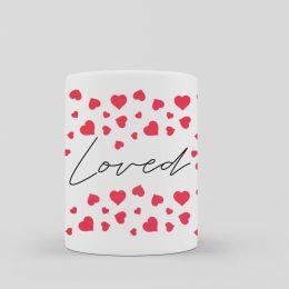 taza de corazones loved original ideas para regalar