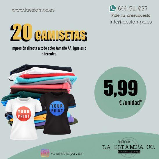 oferta lote camisetas personalizadas para grupos, eventos, despedidas de soltero, empresas, uniformes laborales, festejos, festeros.