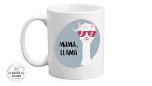 taza dia de la madre humor mama llama