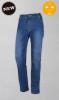 vaquero elastico slim para mujer denim jean con cremallera