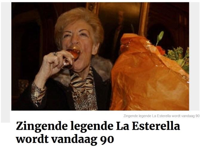 La Esterella 90 jaar!  GVA
