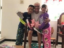 Papi y nietos