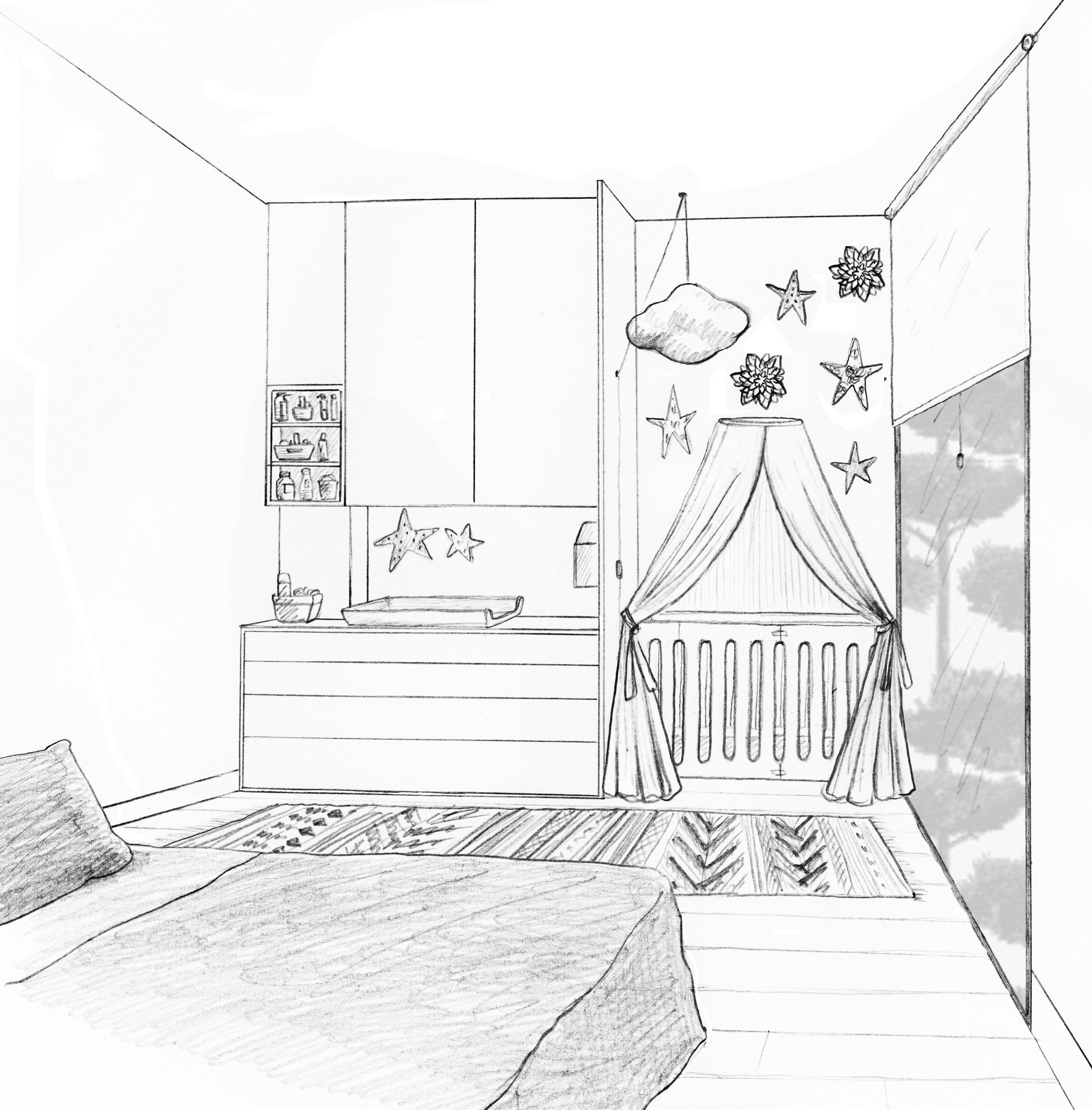 Dessin Chambre Bb Perfect Plafonnier Chambre Enfant