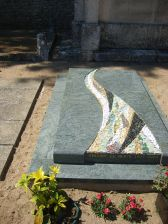 monument fini laetitia aguthier mosaique art funeraire