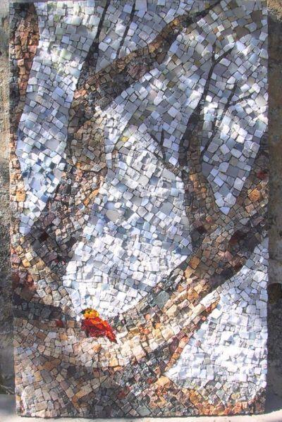mosaïque décorative murale sur mesure