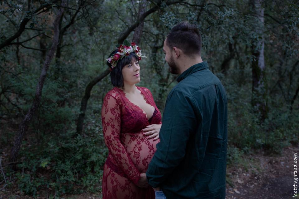 photo grossesse à Mazan