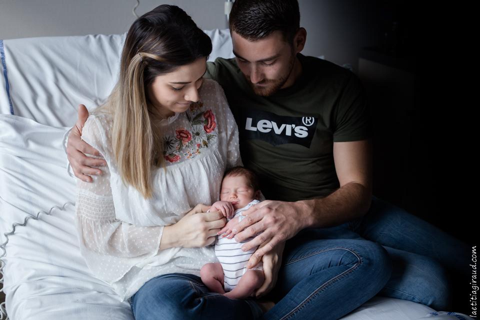 photo de naissance a la maternite de carpentras