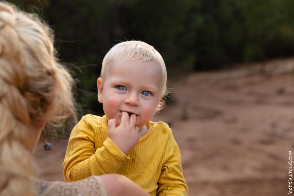 complicité mère fils à Bedoin