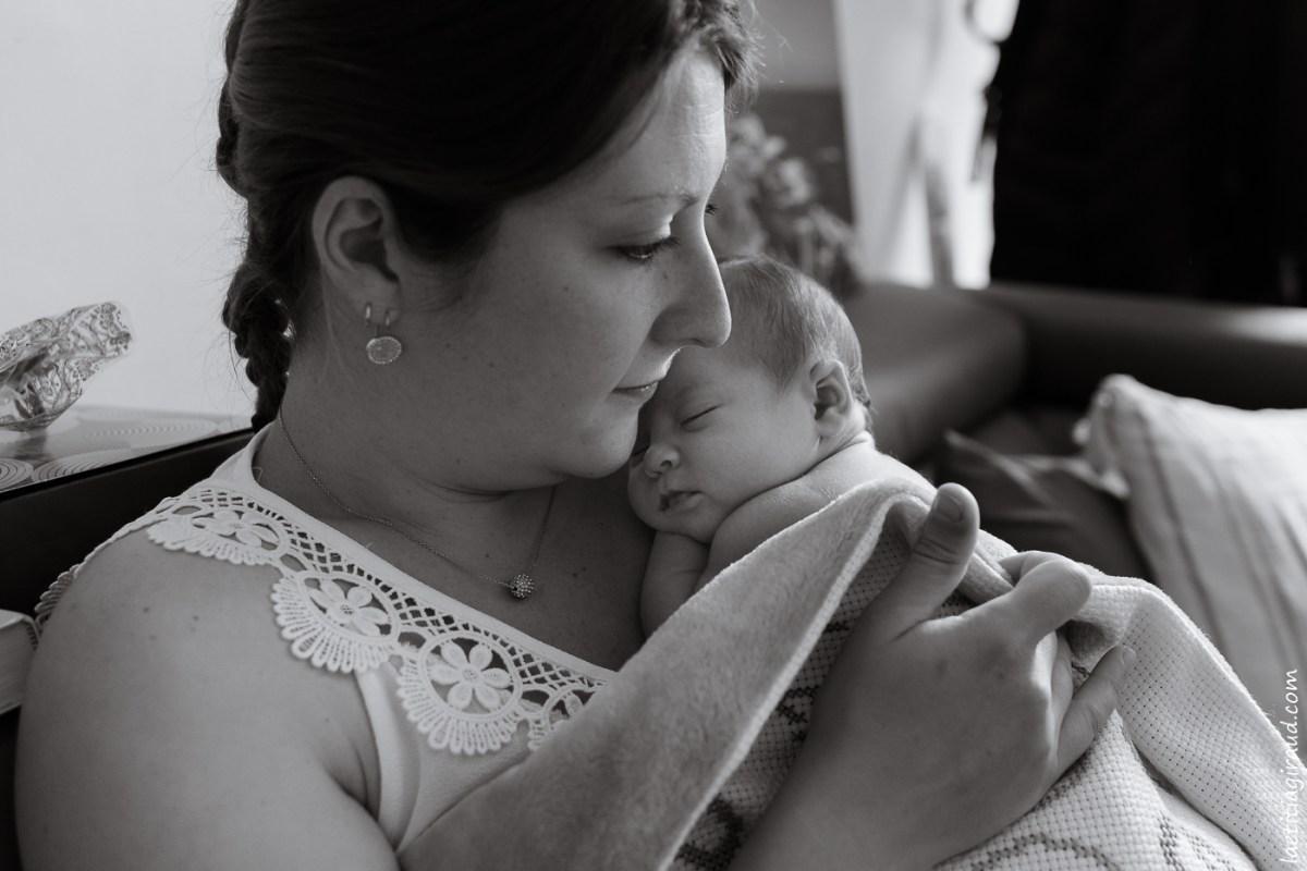 nouveau né et sa maman