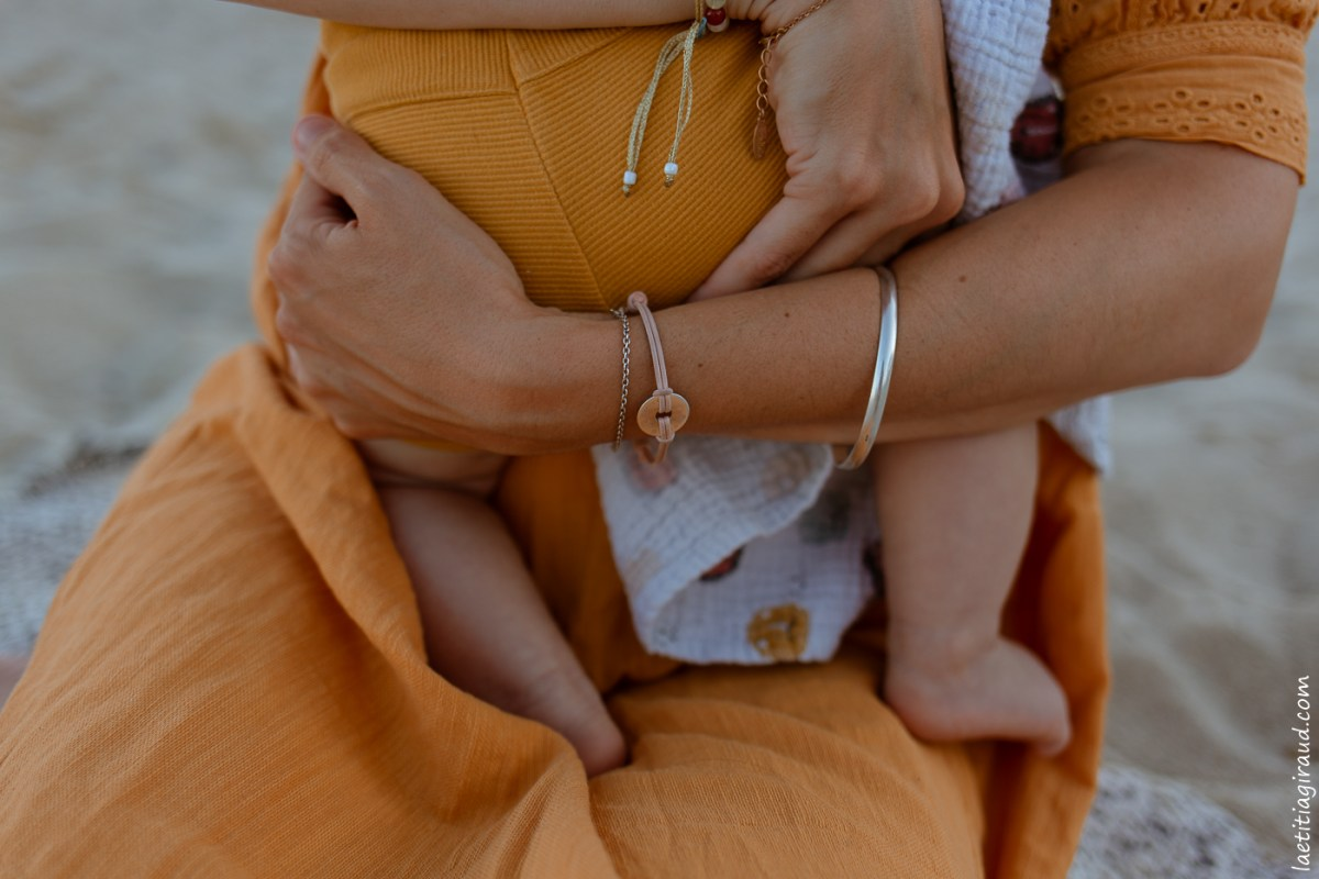 bracelet personalisé pour les futures mamans