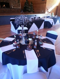 Winter Table Decorations