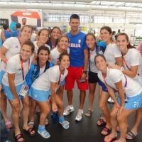 El encuentro casual entre Las Leonas y Novak Djokovic