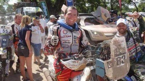 """En la previa de su 5° Dakar, el """"Puchi"""" Ontiveros cuenta sus inicios y expectativas"""