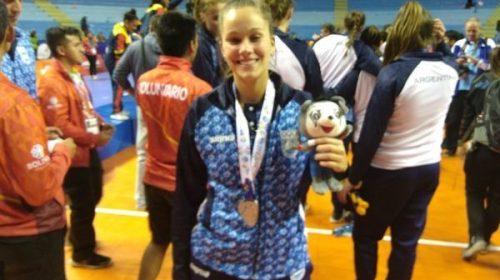 Cocha2018: Daniela Nielson, con plata, la sexta de los sanjuaninos con medalla