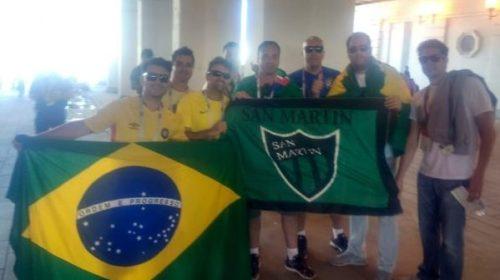 La alegría, a veces, es sólo brasilera