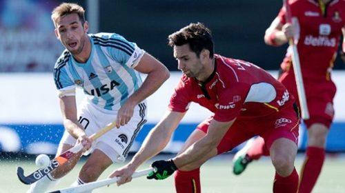 Hockey: Los Leones no pudieron sacarle ventaja a Bélgica