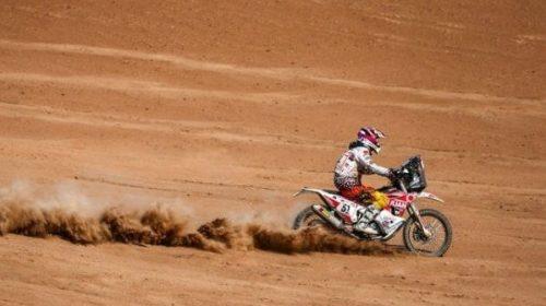 Dakar: Ontiveros trepó hasta el puesto 36 en la sexta etapa
