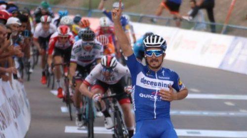 La Vuelta: El frances Alaphilippe rey de la Interlagos