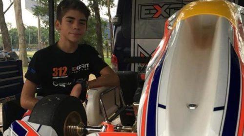 Joaquín Naranjo y su salto de Cadetes a la Pre Junior del karting argentino