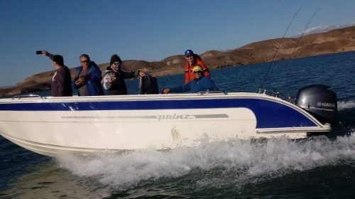 El próximo domingo es Campeonato de Pesca del Pejerrey