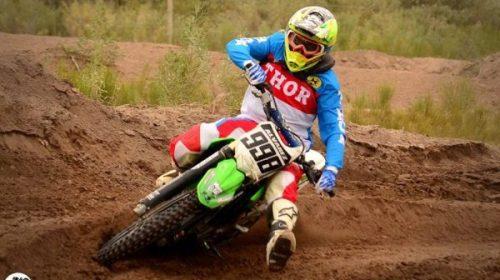 Diversas categorías sanjuaninas cosechan triunfos de Motocross en Tunuyán