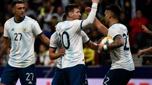 Messi y Argentina se potenciaron en San Juan
