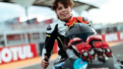 ALMATEUR: Facu Mora, joven promesa del motociclismo sanjuanino