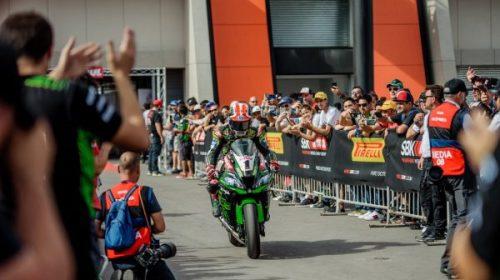 El World Superbike fue para el britanico  Jonathan Rea.