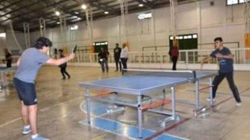 Tenis de mesa, a punto para los Juegos Binacionales