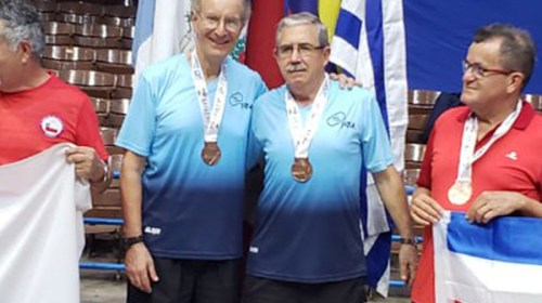 Sanjuanino se trae Bronce de Latinoamericano de Tenis de Mesa, La Habana.