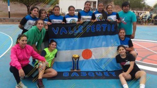Valle Fértil Basquet: Campeonas del Federativo U15