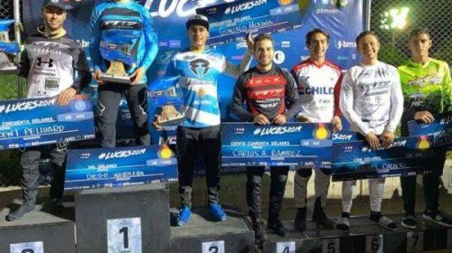 Chalo Molina logra 2do y 3er puestos en Colombia
