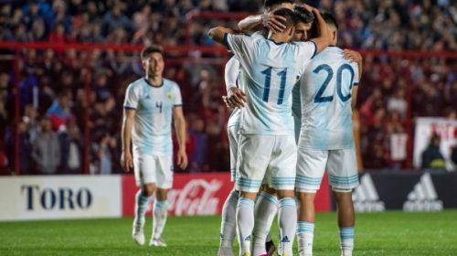 Argentina comenzó con el pie derecho en el Preolímpico ante Colombia