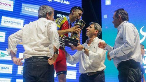 El balance de Nico Tivani de la última temporada de ciclismo