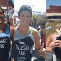 Medard, Tellechea y Zagarra: toda la felicidad en el Triatlón del Sol