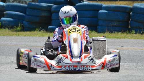 Sin el karting, lo que más entrena en el simulador Joaquin Naranjo