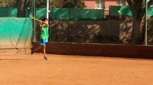 Santiago Fuentes, la ansiedad por el regreso a jugar al tenis