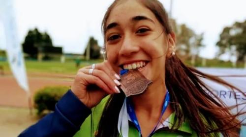 Fernanda Moreno, el sueño de representar al país en atletismo