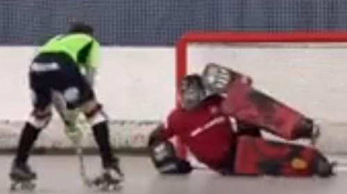 Hockey patín: Tapadas mundiales