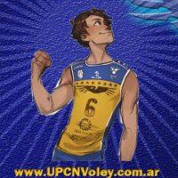 UPCN, en un animé de voley con fama mundial