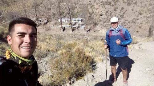 Rodrigo Burgoa, el primero en unir las tres sierras de Valle Fértil, en 8 horas