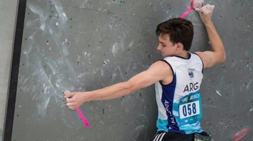 La escalada deportiva, la pasión de Santiago Christensen