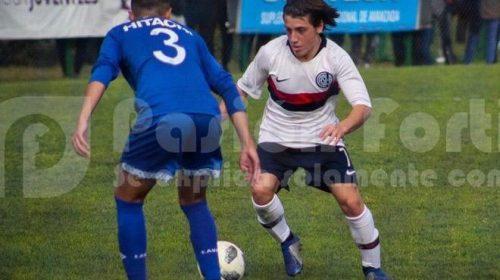 Nicolas Mallea muestra su alegría por la convocatoria al preseleccionado de fútbol