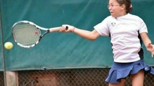 """Trinidad Vagliengo (16): """"El tenis es un ejemplo de la vida cotidiana en sí"""""""