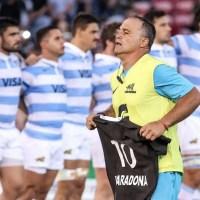 "El imperceptible homenaje de Los Pumas a Maradona: Habla ""Manota"" Rodríguez, sanjuanino de la UAR"