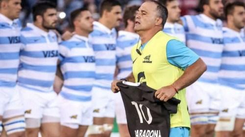 El imperceptible homenaje de Los Pumas a Maradona: Habla «Manota» Rodríguez, sanjuanino de la UAR