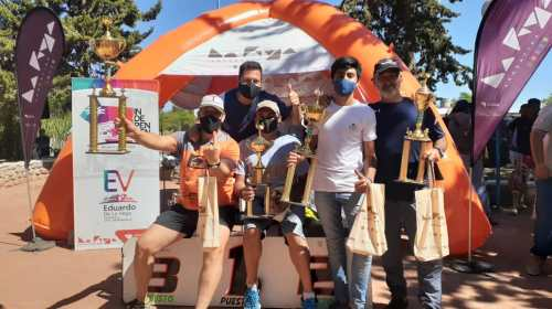 En Córdoba, Facundo Reyes se destacó entre los motociclistas sanjuaninos