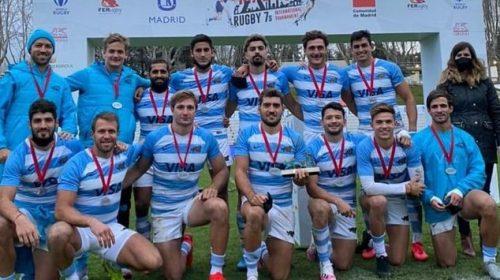 Los Pumas Seven, campeones en Madrid con acento sanjuanino