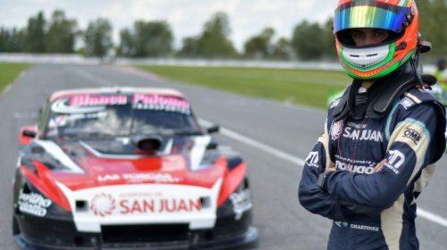 Tobías Martínez sale a la pista con otro motor