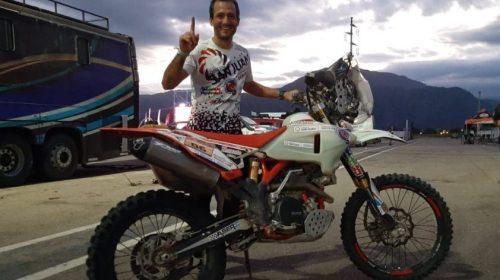 Puchi Ontiveros, ganador en el 'Dakar Sudamericano'
